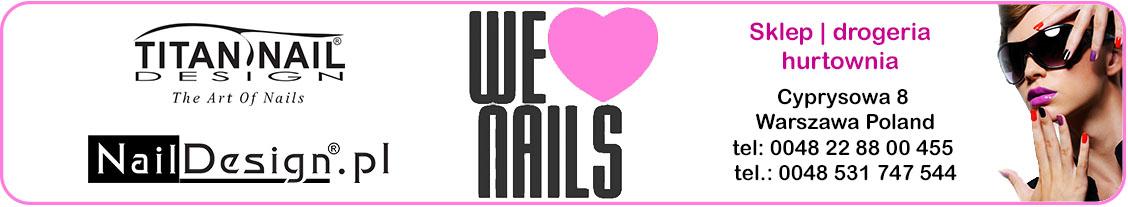 Naildesign.pl Hurtownia kosmetyczna online paznokcie rzęsy pedicure wosk
