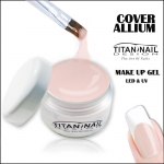 "Żel UV COVER BUILDER ALLIUM make up  ""basic serie"""