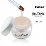 "Żel UV COVER delikatny make up ""basic serie"""