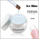 "UV Gel ICE BLUE builder gel ""secret serie"""