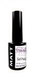 Matte Top  gel polish - 8 ml - surface matting - cures LED + UV