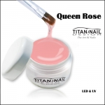 "Queen Rose builder gel ""secret serie"" - UV & LED  -"