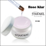 "UV Gel ROSE KLAR 3in1 universal gel ""basic serie"""
