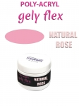 NATURAL ROSE  Poly-acryl gely flex system 15ml