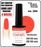 GEL Polish 15ml - soak off  - Royal Princess no. 266