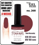 GEL Polish 15ml - soak off  - Royal Queen no. 268