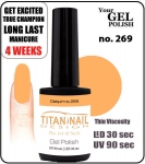 GEL Polish 15ml - soak off - Royal Daiquiri no 269
