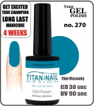 GEL Polish 15ml - soak off  - Royal Kamikaze no 270