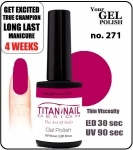 GEL Polish 15ml - soak off - Royal Margarita no 271