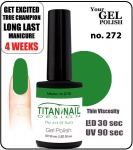 GEL Polish 15ml - soak off  - Royal Mojito no. 272