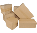 empty packaging, cartons