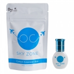 Eyelash glue SKY ZONE 1-2 sec. Black eye lash glue 5 ml - Latexfree