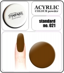 21 standard brown - 2g. Acrylic colour powder