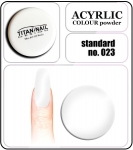 23 standard white - 2g. Acrylic colour powder