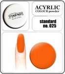 25 standard orange - 2g. Acrylic colour powder