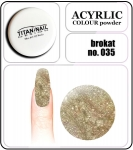 35 brokat gold - 2g. Acrylic colour powder