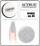 04 brokat grey - 2g. Acrylic colour powder