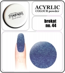 44 brokat sky blue - 2g. Acrylic colour powder