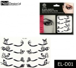 Eyeliner Set Decoration glued lines EL-D01