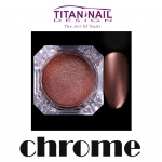 Chromium effect - chrome effect - chromium-plated copper for nails