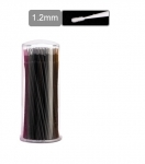 Applikator for eyelash - 1.2mm - black