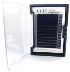 Eyelashes 0.07 mm, length 8mm-13mm, form D, black in box