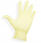 Latex gloves without marshmallows size: XS
