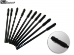 10 x Disposable Mascara Brushes 10 pieces - silicone