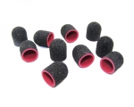 Abrasive Cap 13mm black 10 piece - gritt 80