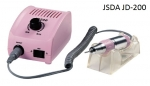 Nail Filing Machine JSDA JD-200 35W 30,000 rev / min with original components - pink