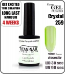 GEL Polish 15ml - soak off - Crystal Perydot (no. 259)