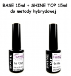 MINI Hybrid Set - BASE 15ml + SHINE TOP 15ml