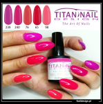5x hybrid gel polish 8ml PINK only 40 PLN