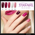 5x hybrid gel polish 8ml RED only 40 PLN