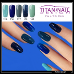 5x hybrid gel polish 8ml BLUE only 40 PLN