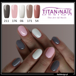 set of hybrid Gel Polish colors NUDE - 5 colors - 8ml
