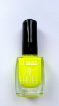 Enamel paint nail capacity: 9ml - neon yellow