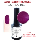 GEL Polish 15ml - soak off - 12 ml - Kafer Glitter  (164)