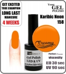 hybrydowy lakier - GEL Polish 8ml - soak off - Karibic Neon (no. 158)