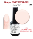 GEL Polish 15ml - soak off - 12 ml - Veil (166)