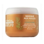 Hair mask of undisciplined writhing (L'oreal Paris) - Nature, maque aux Huiles 200ml