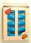 CLIPS TO REMOVE PAINT HYBRID - 10 PCS. - blue