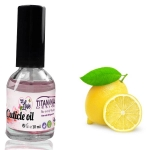 Lemon Cuticle Oil With Vitamins  A, E, F & H - 10 ml