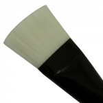 Brush for applying masks