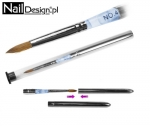 Profi Studio Line Brush for Acryl #4 - blue