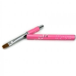 Brush for gel with zircons - pink #8