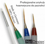 Nail Art Brush Set ZP-NA 4 brushes