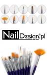 Profesionaler Nail Art Set of 10 nail art brushes SUPER