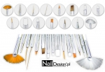 Professional Gel Nail Art Brush Set 15 Piece