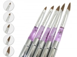 Set of 5 brushes and decorating gel